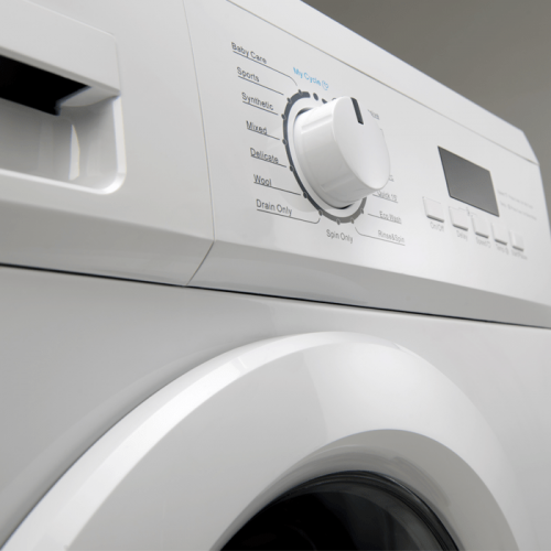 6KG Front Load Washer - Controls