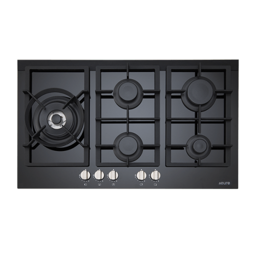 90cm Gas On Ceramic Cooktop