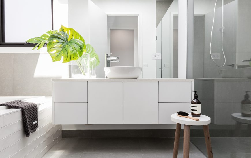 The Best Material for Bathroom Cabinets Is…