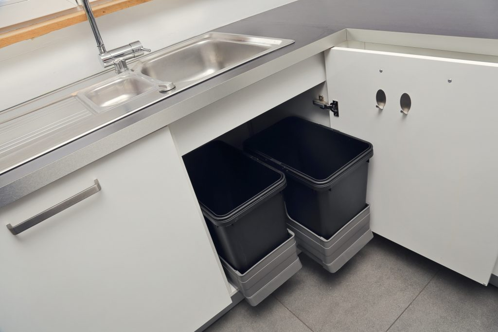 pull-out kitchen bins
