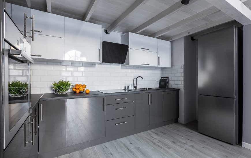 Is Grey the new colour of choice for Kitchens?