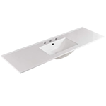 150cm Single Bowl Ceramic Vanity Top