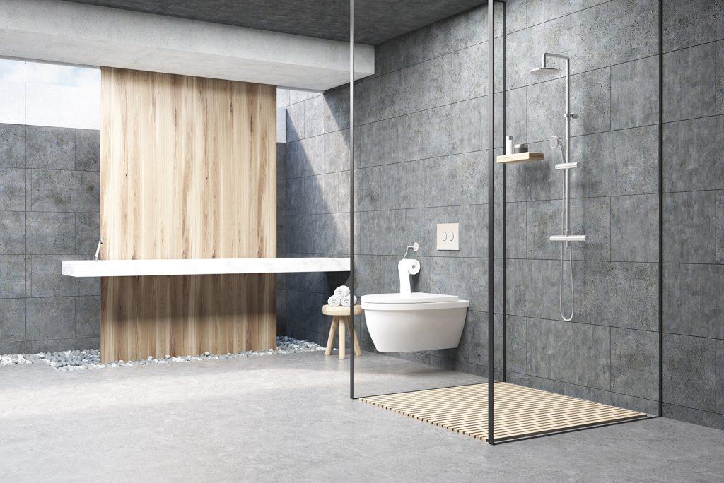 semi-farmless shower