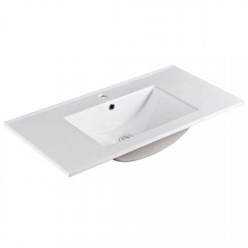 90cm Ceramic Vanity Top
