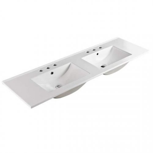 150cm Double Bowl Ceramic Vanity Top Specs