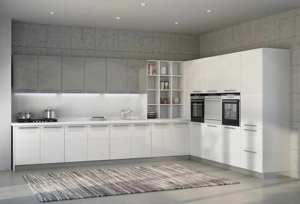 L-Shapes Kitchen