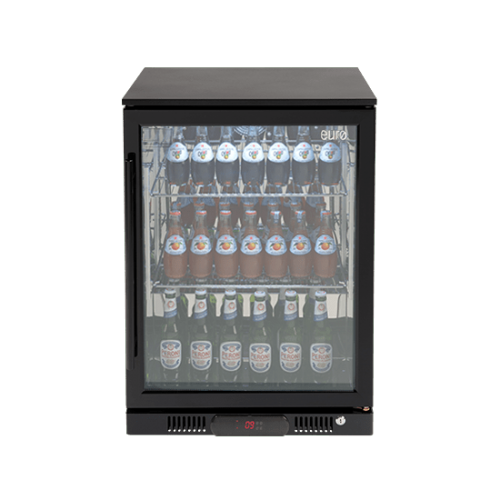 138lt Beverage Cooler (Black R Hinge)