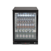 138lt Beverage Cooler (Black L Hinge)