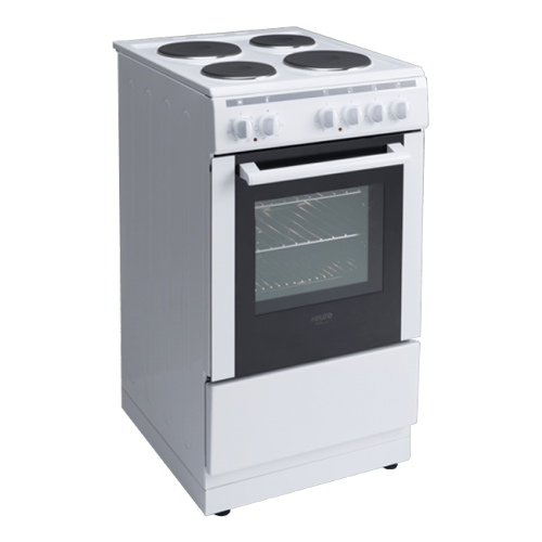 Side View of 50cm Freestanding Oven