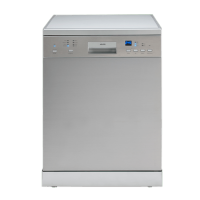 60cm Freestanding Electronic Dishwasher (Stainless)