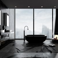 2021 Guide to Black Bathrooms