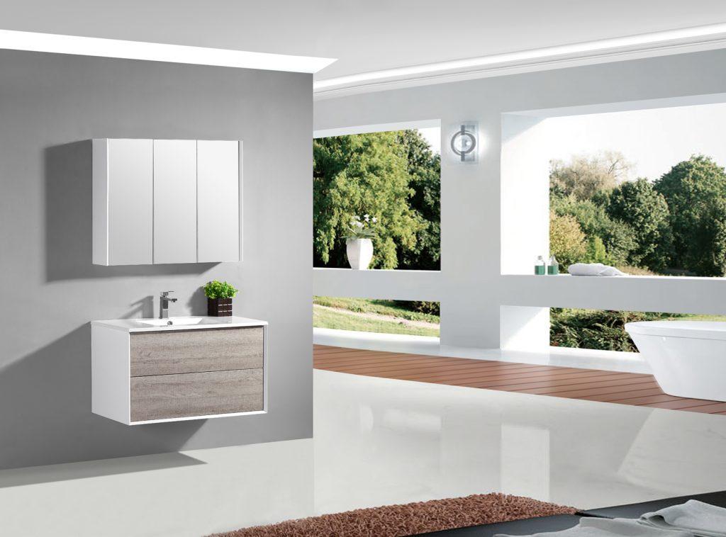 wall hung vanity