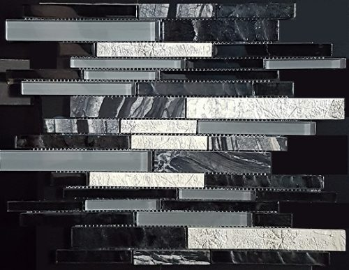 Art Deco Black Interlock