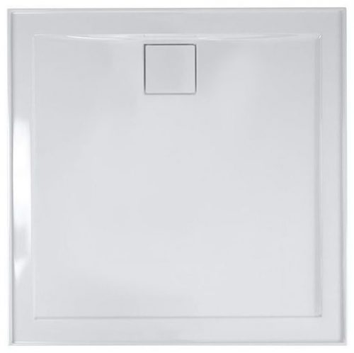 Square Rear Outlet Shower Base