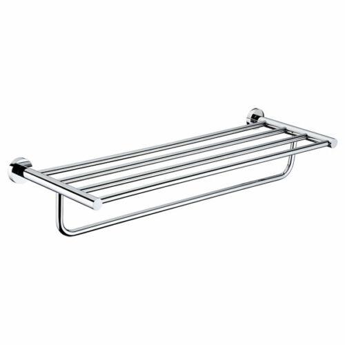 Round Towel Shelf and Rail