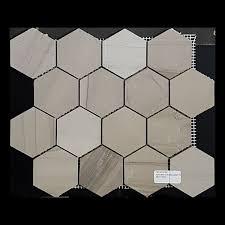 Tuscany Athens Grey hexagon