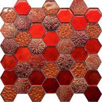 Civili Roman Hexagon Mosaic