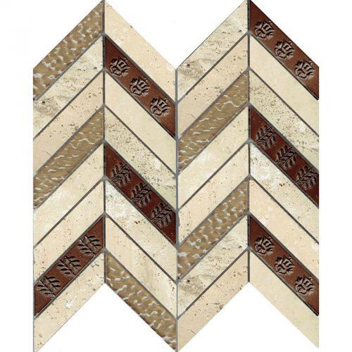 Civila Maya Chevron mosaic