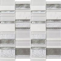 Art Deco White Stack