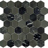 Art Deco Grey Hexagon