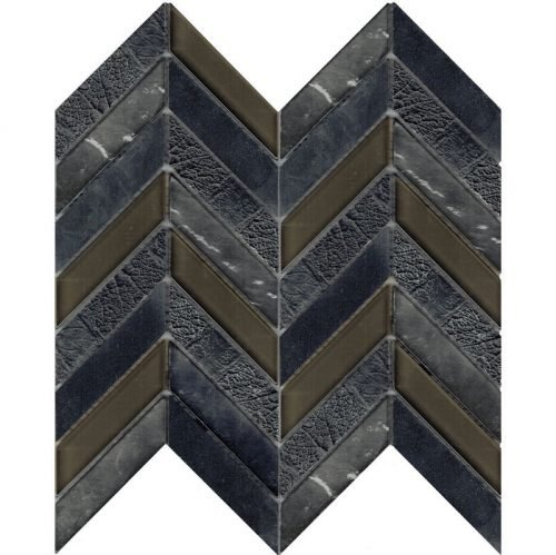 Art Deco Grey Chevron