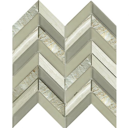 Art Deco Cream Chevron