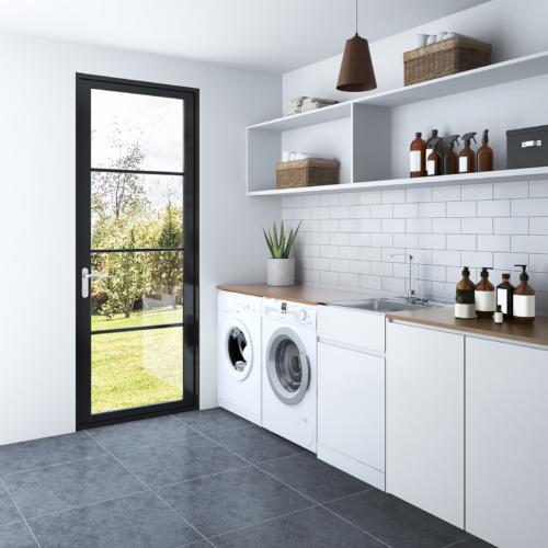 Nugleam™ 35L Soft Close Laundry Unit
