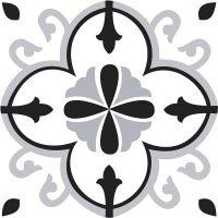 Esty Black Feature Tile