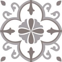 Esty Brown Ceramic Tile