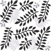 Carina Black Feature Tile