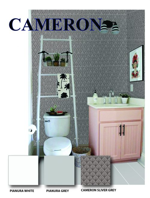 Cameron Grey Wall Tile