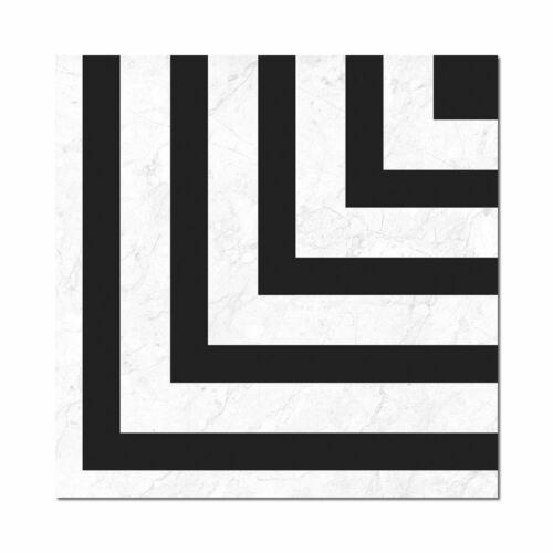 luxello black feature ceramic tile