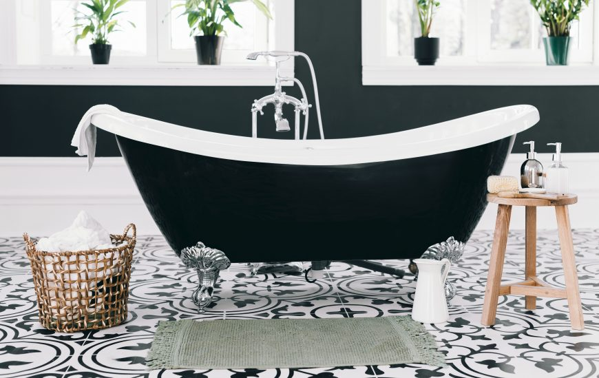 Black Baths for a Black Bathroom!