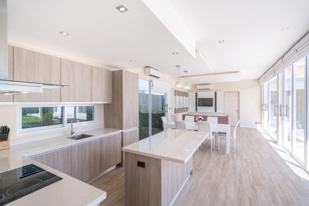 floor to ceiling kitchen design