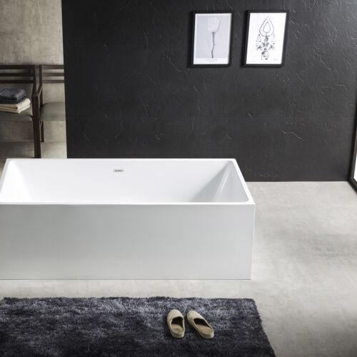 Cube Corner Freestanding Bath