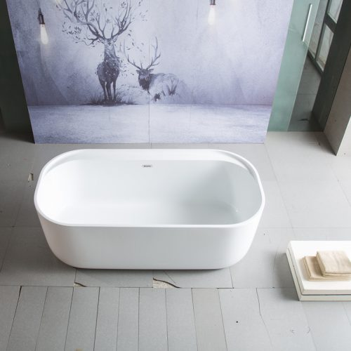 Lativa Freestanding Bath - Top View