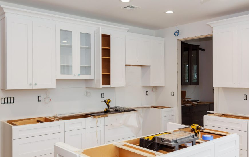 How to Install Kitchen Cabinets, the DIY Way!
