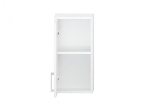 Wall Cupboard Left Hand Hinged Single Door 20cm (Open)