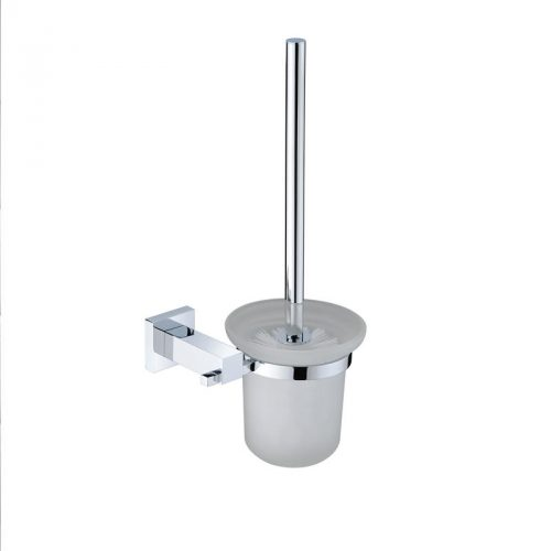 Square Toilet Brush and Holder