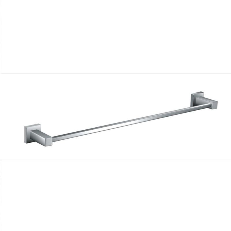 Square 900mm Single Towel Rail - Bathroom Accessories Perth