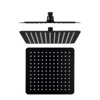 Cube Black Slim Shower Head