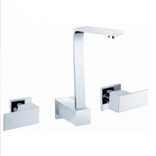 Cube 1/4 Turn Sink Set