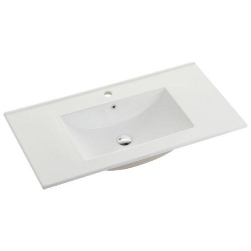 75cm Ceramic Vanity Top Matt White