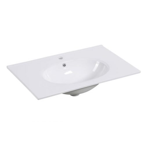 75cm Ceramic Vanity Top Round Bowl