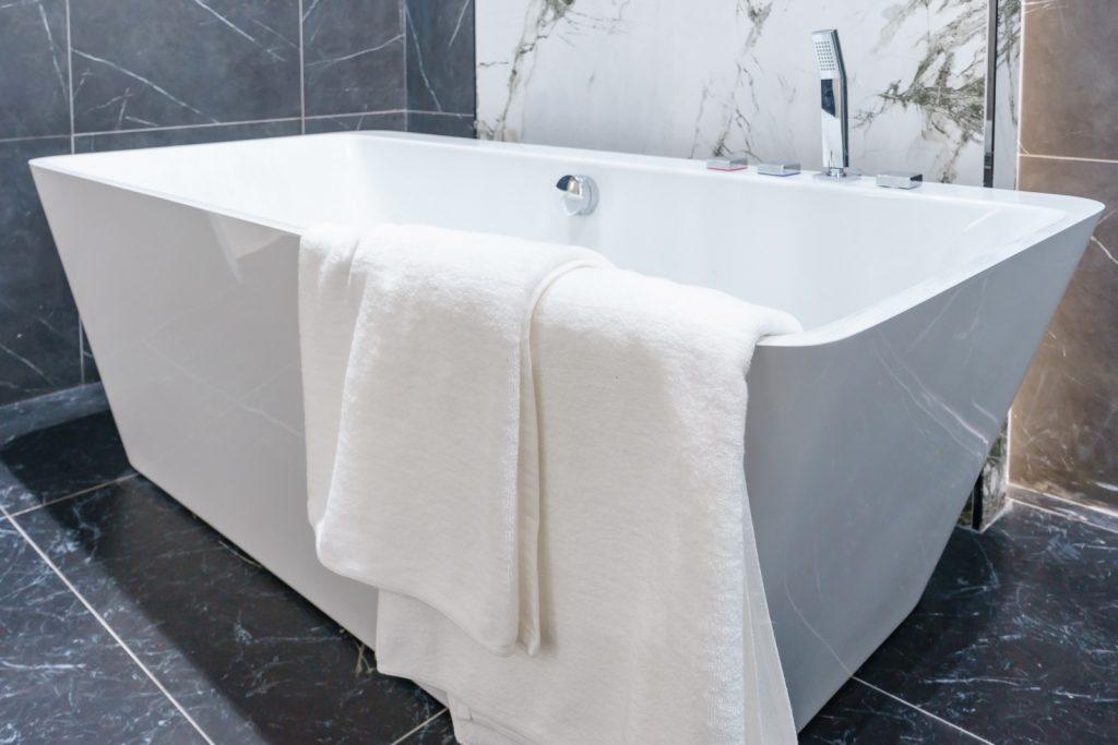 rectangle bath