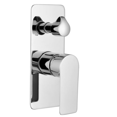 Sky Wall Mixer With Diverter
