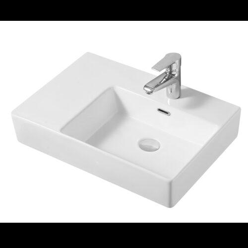 Cube Wall Basin Right-hand Bowl