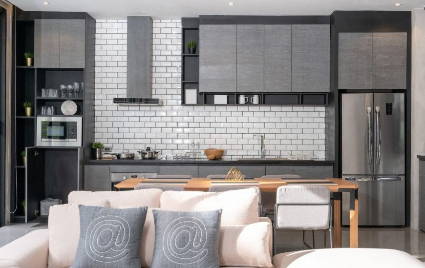 The Best Options for Kitchen Splashbacks Are…