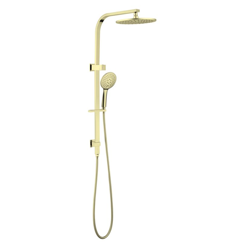 Mecca / Bianca Round Shower – Brushed Gold