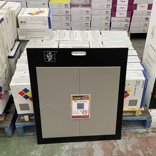 Della Grey Floor Tile on Sale
